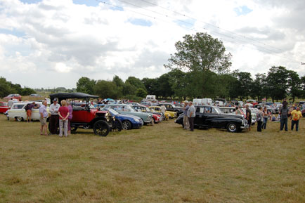 Good size gathering with a good array of cars
