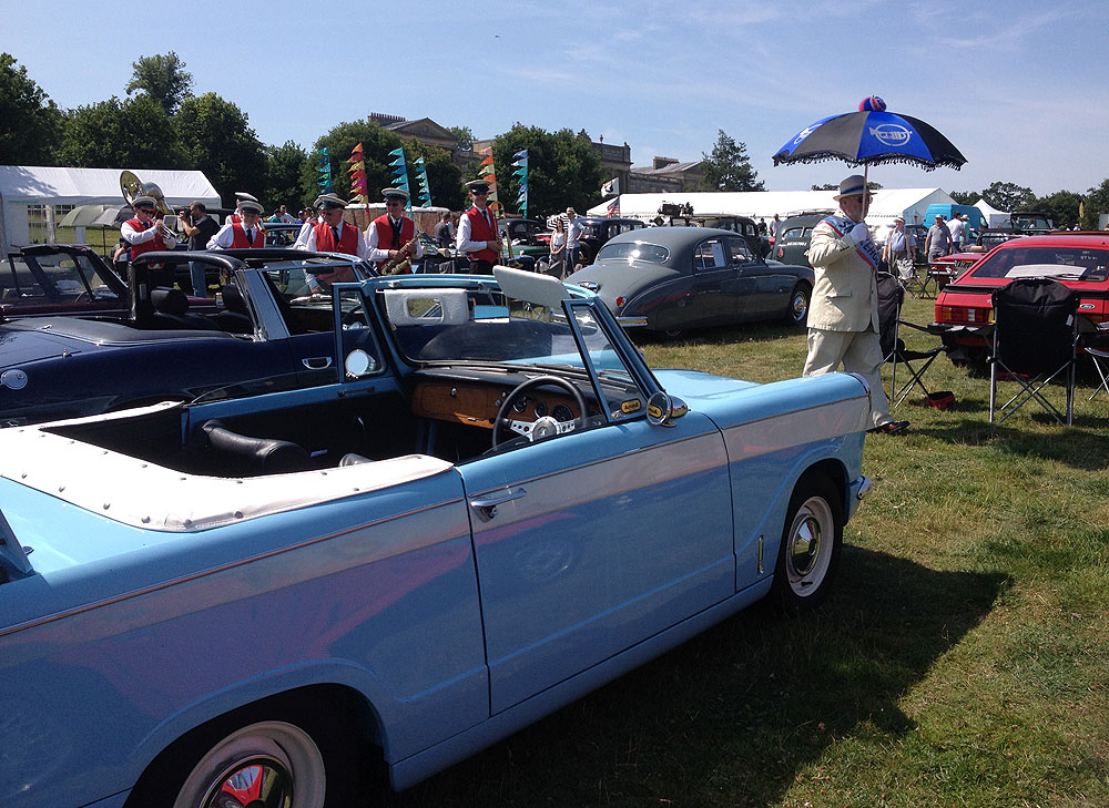 Heveningham Wings and Wheels, 11th July 2015