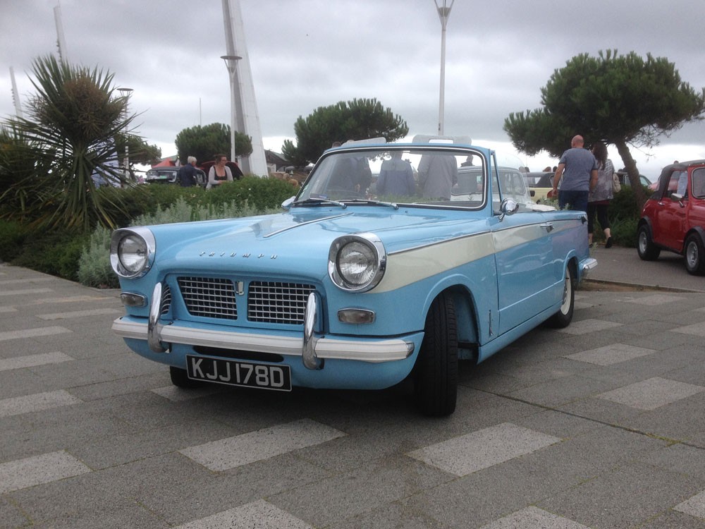 London to Southend Classic Vehicle Run, 10th July 2016