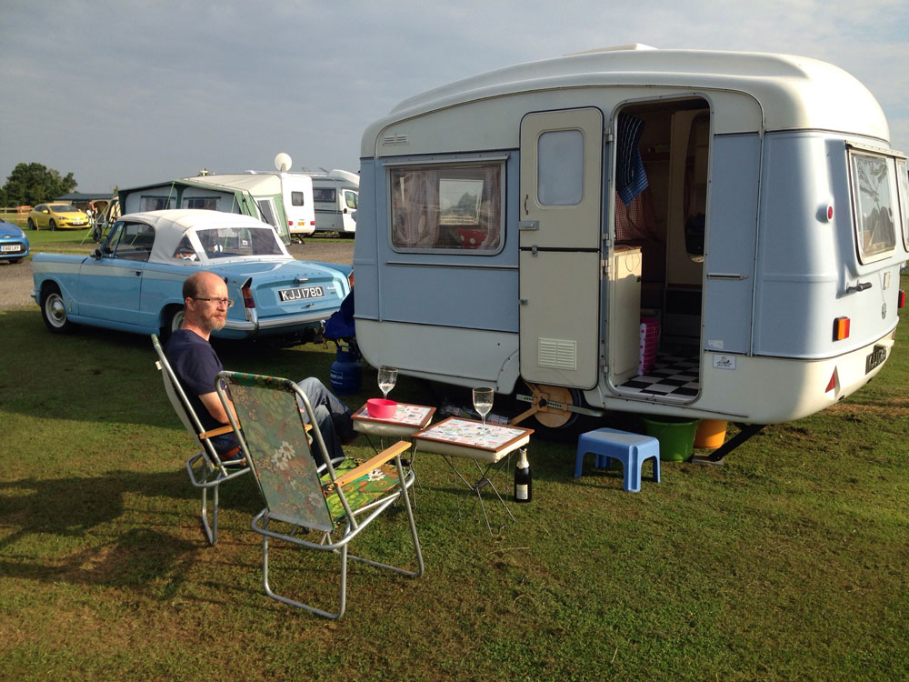 Caravanning Weekend to Nene Valley Railway Classic Car Show, 22nd-26th July 2016