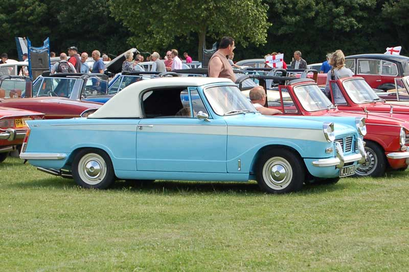 Bromley Pageant of Motoring Triumph Herald