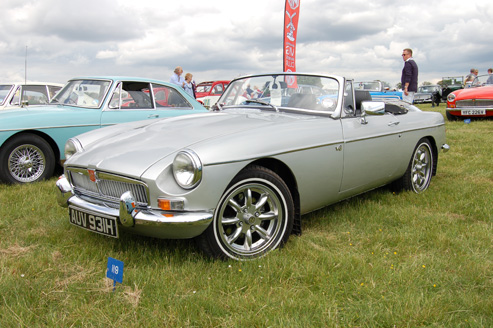 MGB Euston Park Rural Pastimes