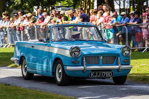Festival of Classic and Sports Cars, Helmingham Hall and Gardens