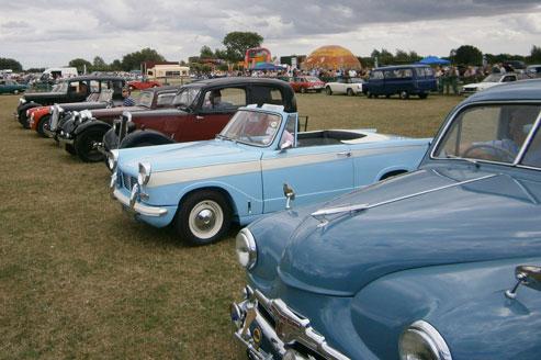 Stonham Barns Car Show