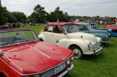 Reliant Scimiter Euston Park Rural Pastimes