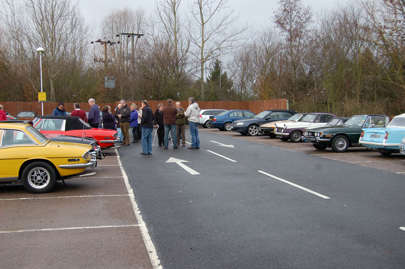 Stag Owners Club (SOC) Frostbite Run, 2nd January 2011