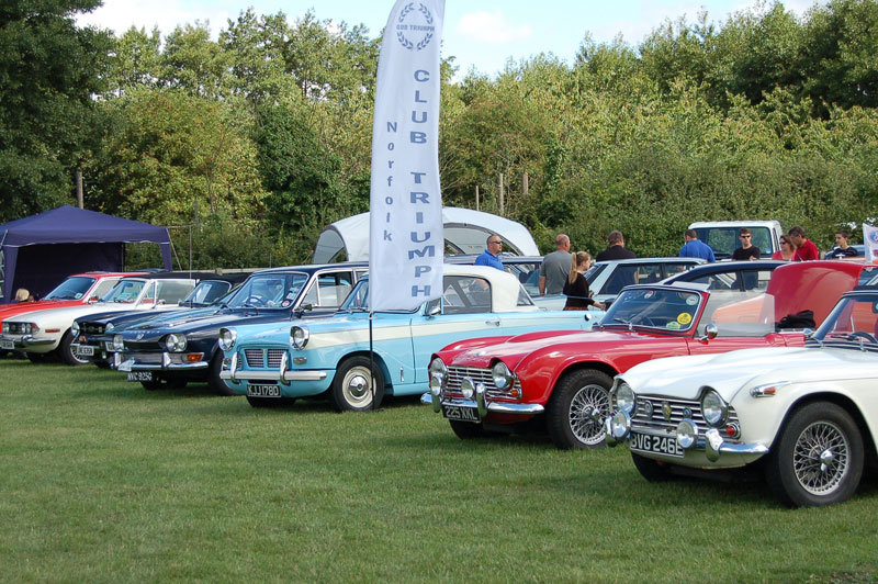 Stonham Barns Classsic Car Show
