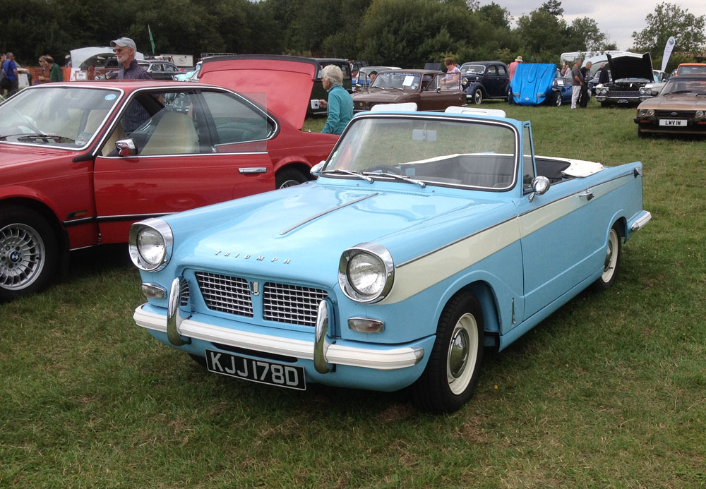 Stonham Barns Classic Car Show, 16th August 2015