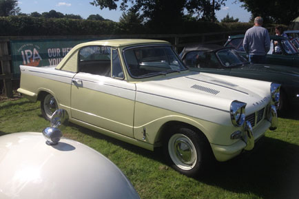 Very nice Herald Coupe with nice subtle body mods