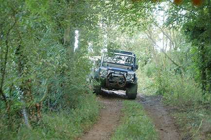 4x4 off road track