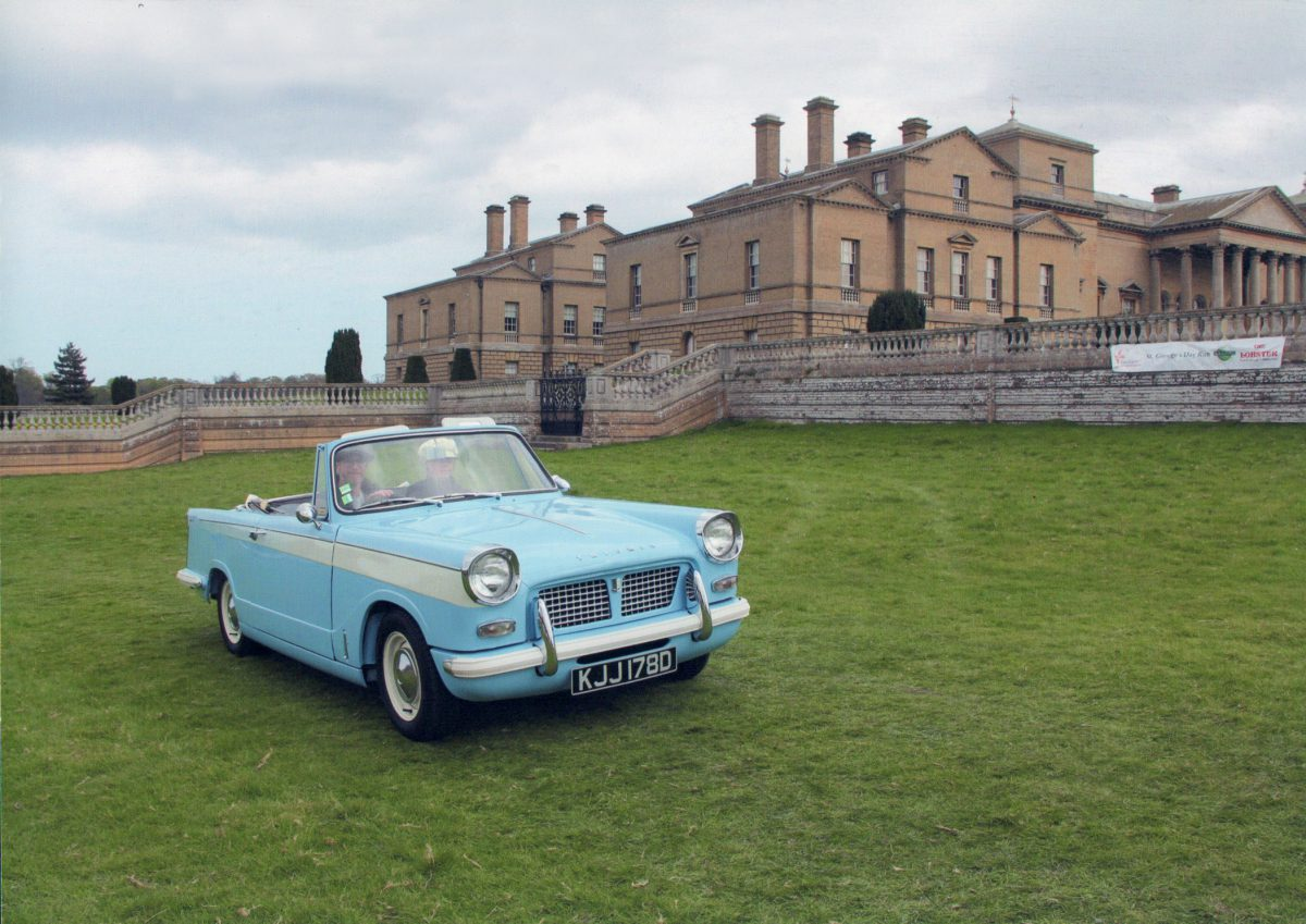 Drive it Day 2017 Sandringham to Holkham Hall