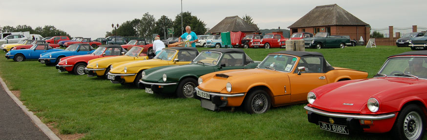 TSSC International at Stafford - 50 years of the Spitfire and Vitesse