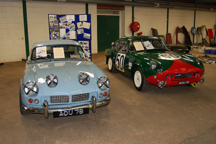 Couple of the ADU racing Spitfires