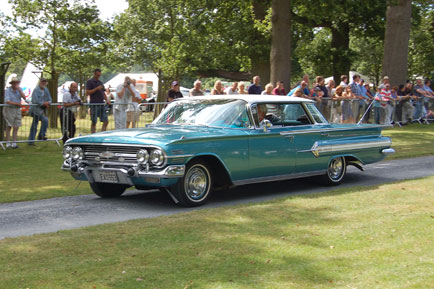 including this 1960s Chevrolet