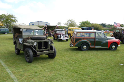 Army vehicle display