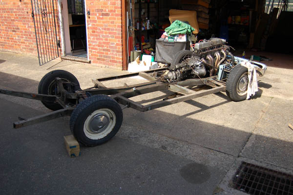 Herald chassis strip down
