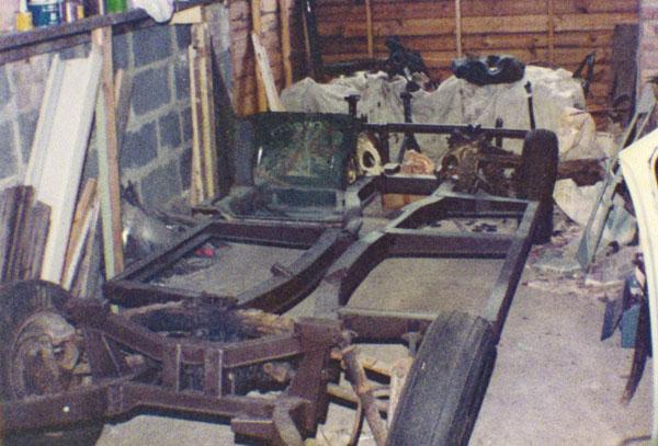 Triumph Herald Chassis rebuild