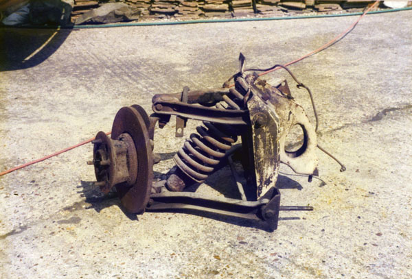 Triumph Herald front subframe