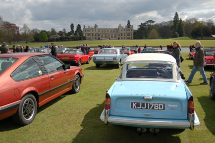 Audley End House Classic Car