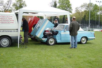 Triumph Herald engine tune up