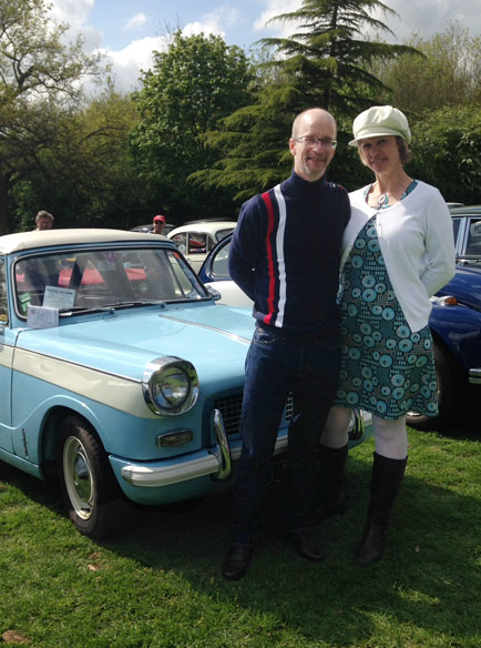 Drive It Day. Dress the age of your car, Layer Marney Tower