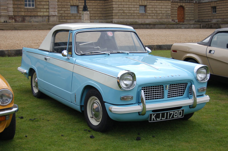 Drive It Day - Club Triumph run to Holkham Hall,