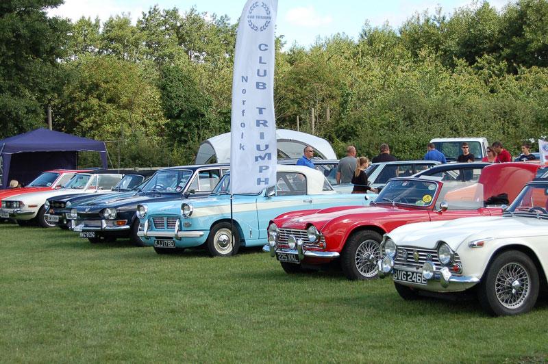 Stonham Barns Classsic Car Show