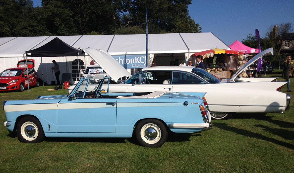 Classic and Sports Cars by the Lake, 6th September 2015