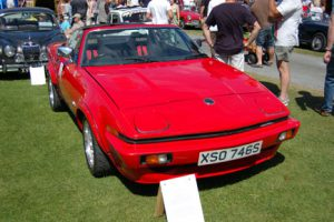 Richard's nice looking TR7 prototype