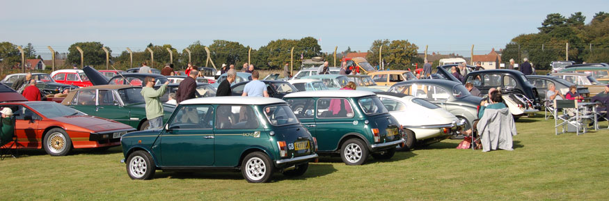 Small but good selection of classics on show