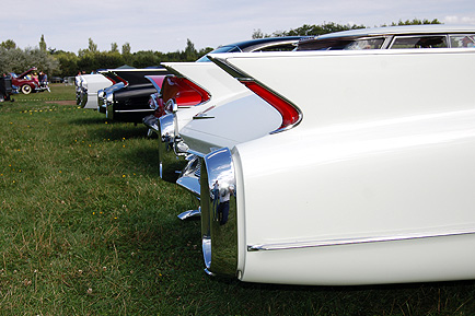 Classic Yankee rear ends