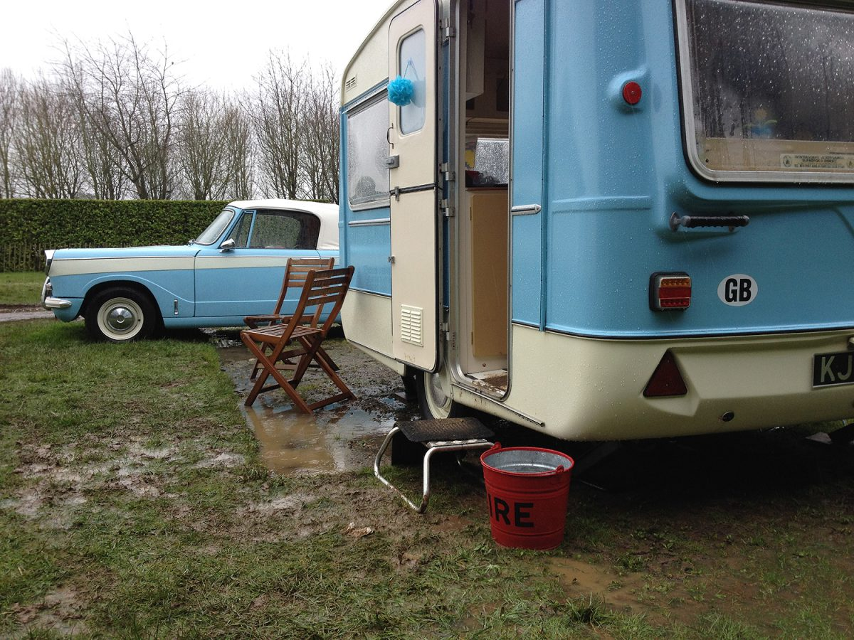 Retro Caravan Club Easter Rally at Banham Zoo, 29th March to 2nd April