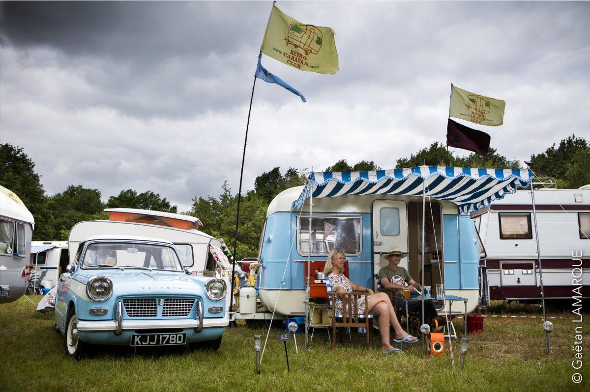 European Classic Caravan Rally, Werchter, Belgium, 22nd May to 2nd June 2019