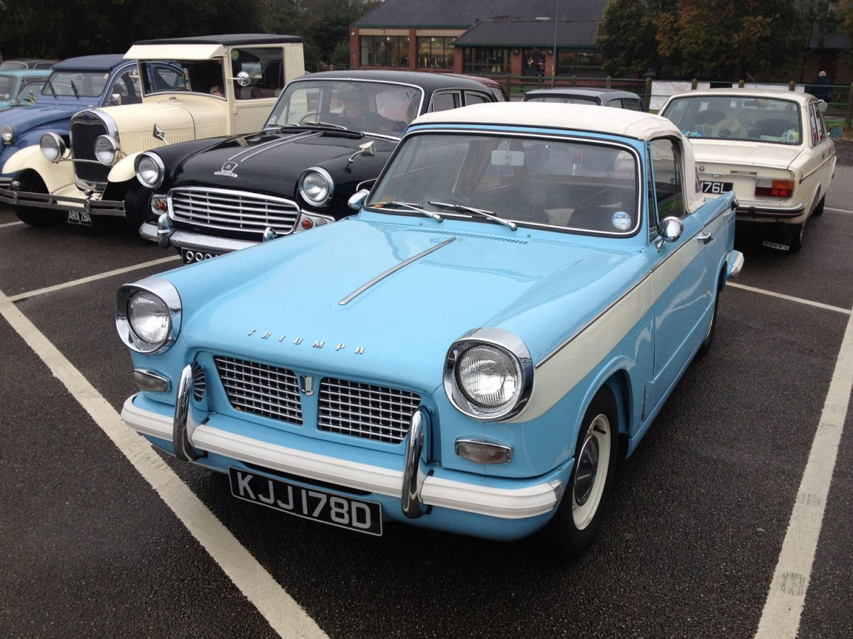 Mid-Norfolk Railway Classic Car Day, Sunday 13th October 2019