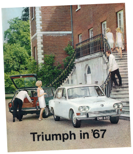 Triumph catalogue from 1967