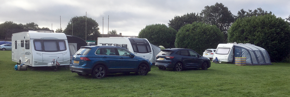 new cars and caravans